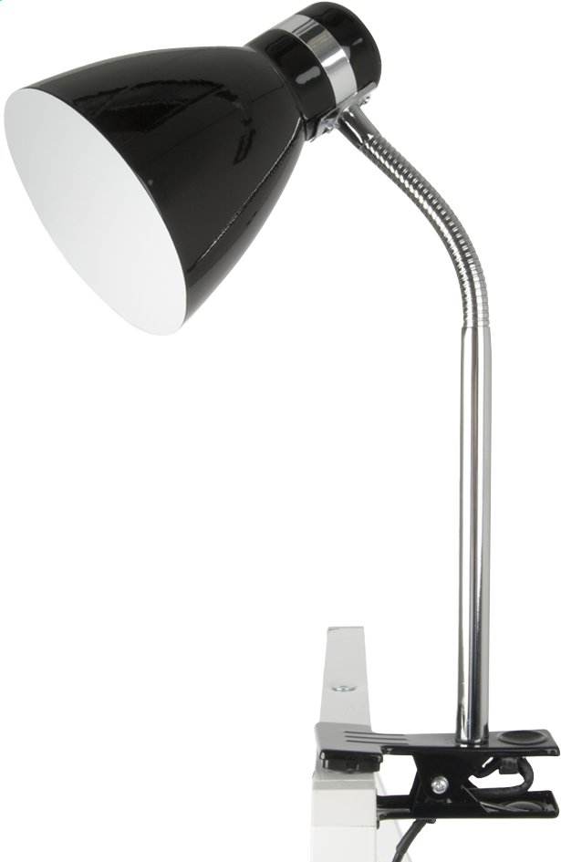 Clip On Lamp noir