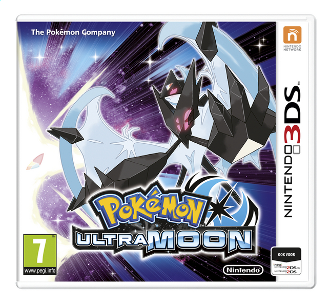 Afbeelding van 3DS Pokemon Ultra Moon ENG from DreamLand