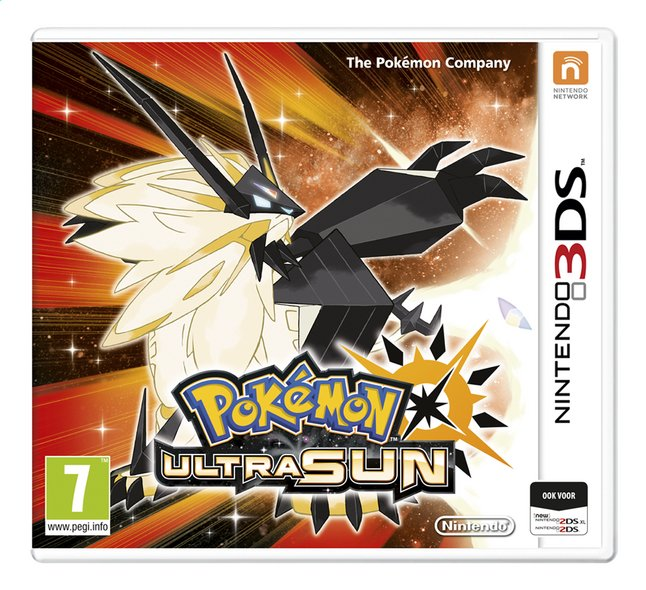 Afbeelding van 3DS Pokemon Ultra Sun ENG from DreamLand