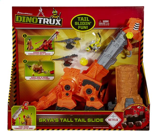 Afbeelding van Speelset Dinotrux Skya's tall tail slide from DreamLand