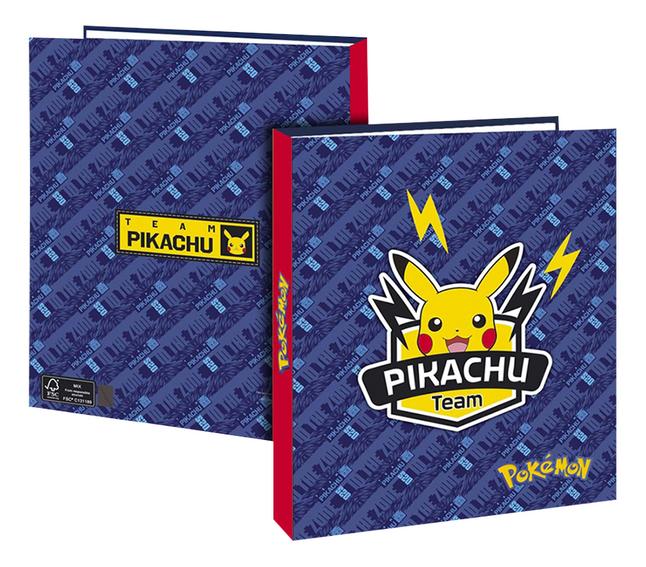 Ringmap A4 Pokémon Pikachu Team 4 cm