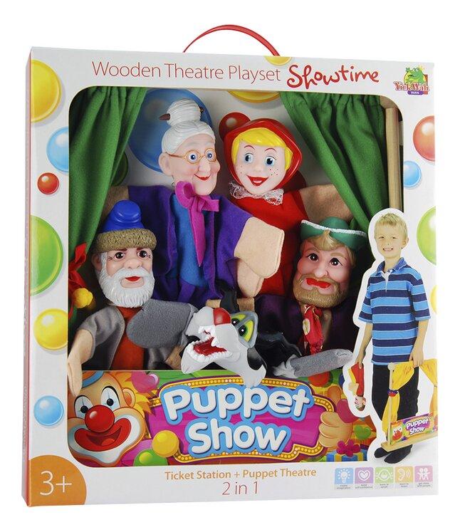 Image pour Théâtre de marionnette en bois avec 5 marionnettes à partir de DreamLand