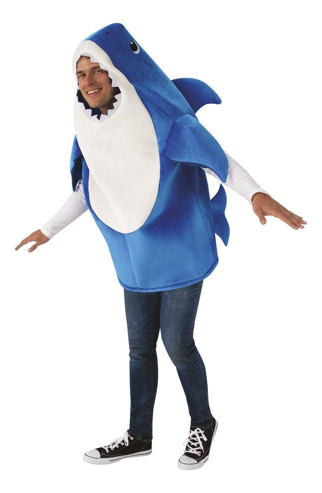 Verkleedpak Baby Shark - Daddy Shark volwassene