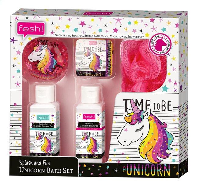 Afbeelding van Bad- en douchegel Splash and Fun Unicorn Bath Set from DreamLand