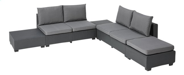 Afbeelding van Allibert loungeset Sapporo Graphite from DreamLand