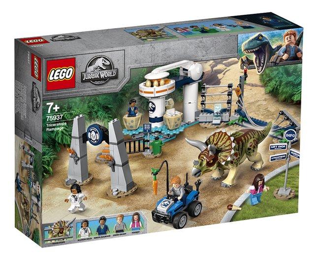 Afbeelding van LEGO Jurassic World 75937 Triceratopschaos from DreamLand