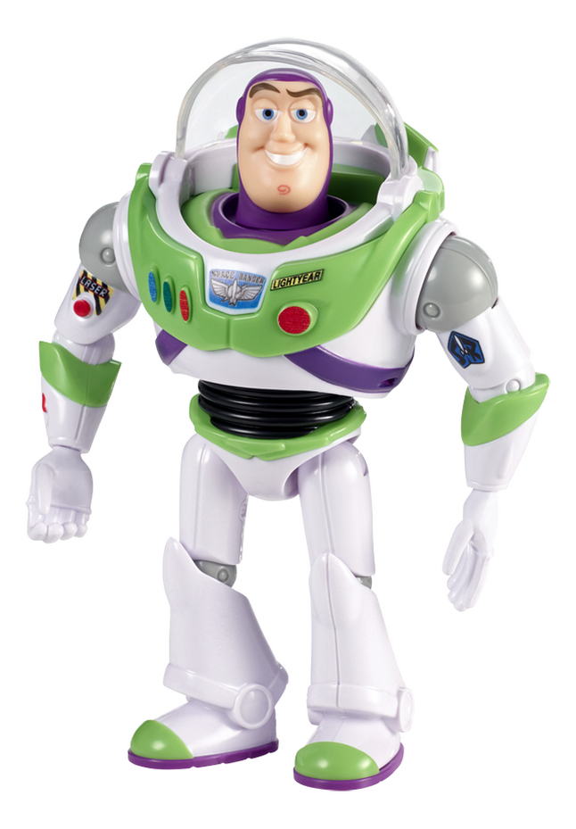 Actiefiguur Toy Story 4 Movie basic Buzz Lightyear