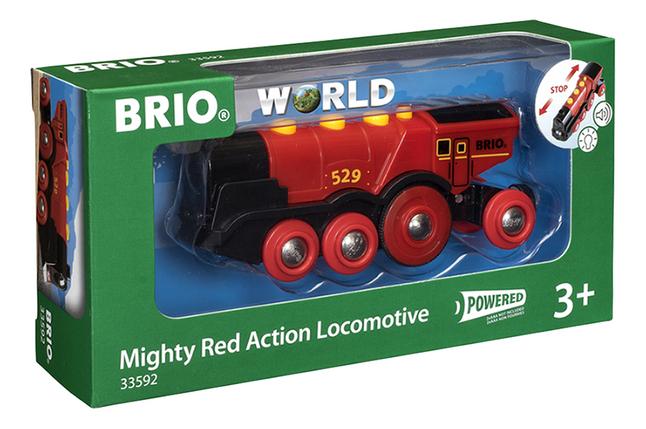 Image pour BRIO World 33592 Locomotive rouge puissante à piles à partir de DreamLand