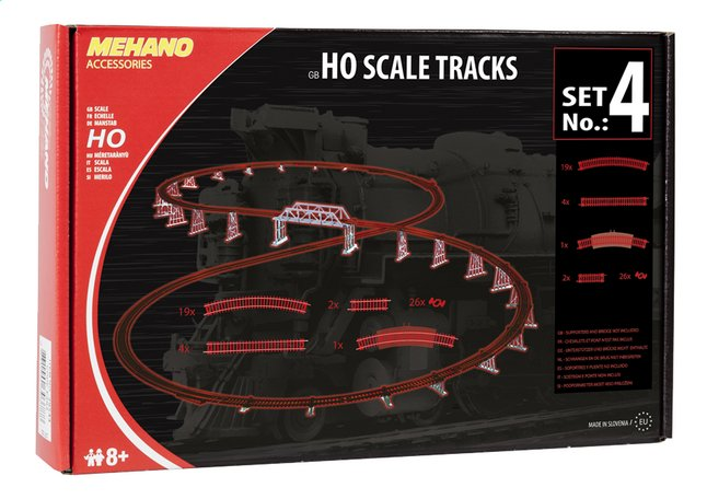 Afbeelding van Mehano sporenset Ho Scale tracks from DreamLand