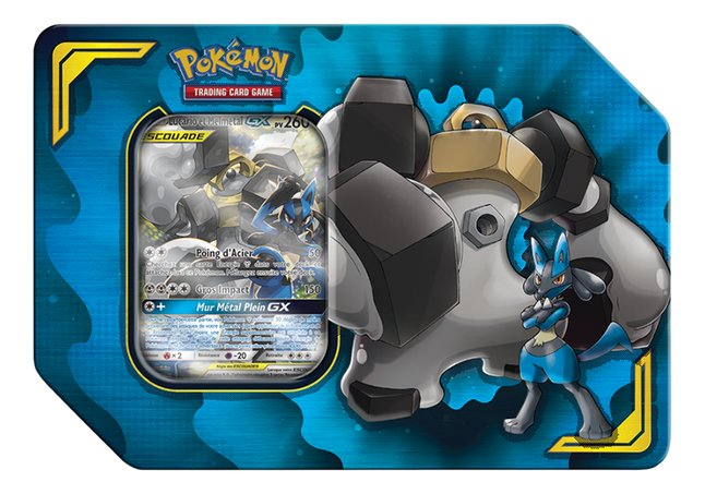 Pokémon JCC Trading Cards Tag Team Tin Box