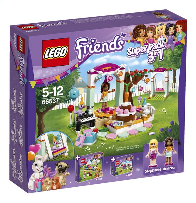 Afbeelding van LEGO Friends 66537 Super Pack 3-in-1 from DreamLand