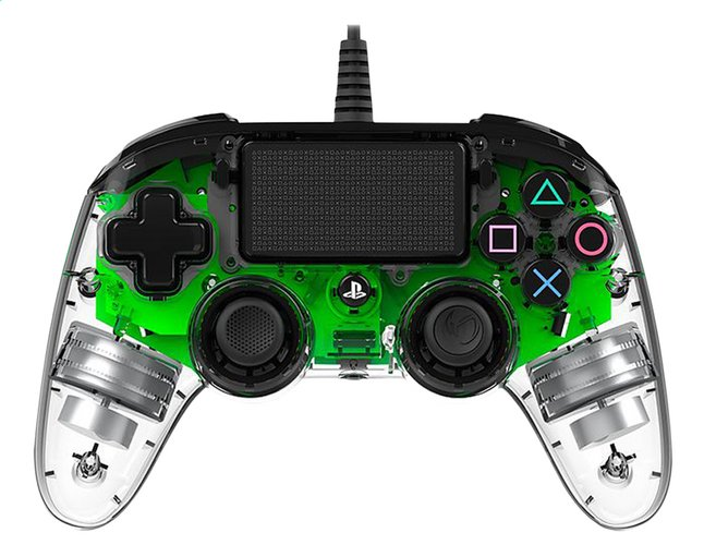 Afbeelding van Nacon PS4 Wired Compact Controller LED groen from DreamLand