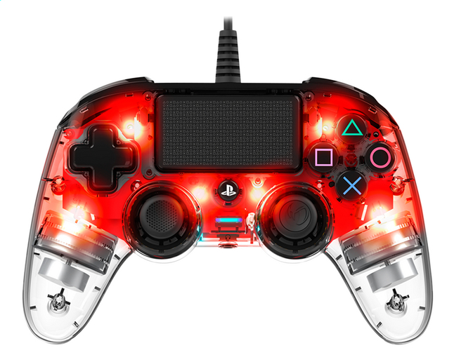 Afbeelding van Nacon PS4 Wired Compact Controller LED rood from DreamLand