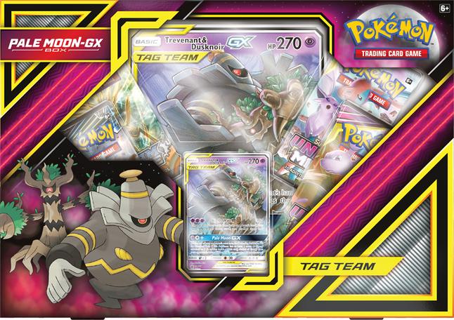 Image pour Pokémon Trading Cards Pale Moon-Gx Box - Trevenant & Dusknoir ANG à partir de DreamLand