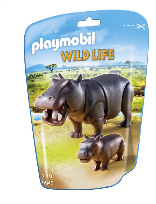 Image pour Playmobil Wild Life 6945 Hippopotame et son petit à partir de DreamLand