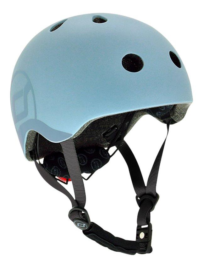 Scoot and Ride Casque vélo pour enfant steel S