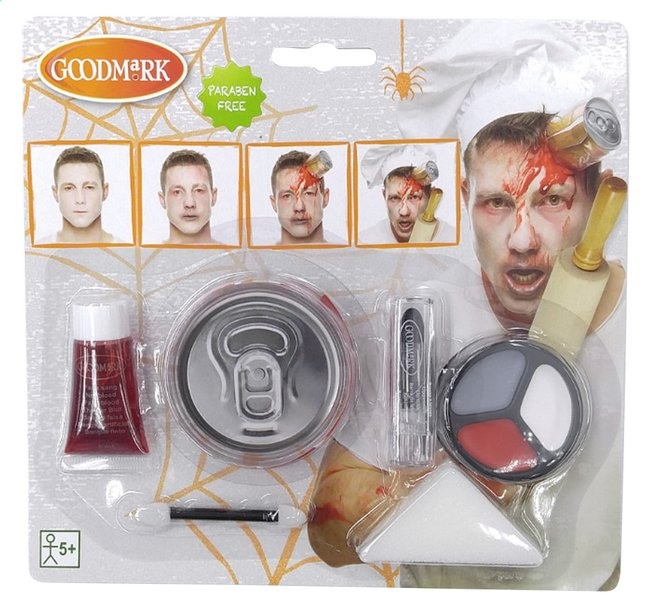 Afbeelding van Goodmark make-up-set Zombie Chef from DreamLand