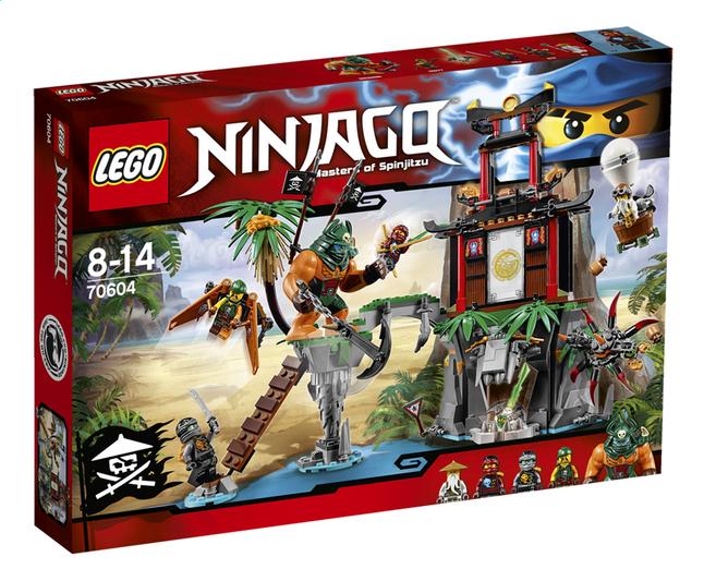 Image pour LEGO Ninjago 70604 L'île de la Veuve du Tigre à partir de DreamLand