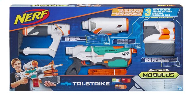 Afbeelding van Nerf blaster Modulus N-Strike Tri-Strike from DreamLand