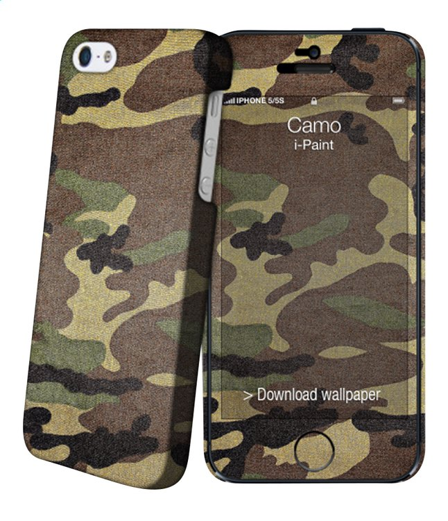 Afbeelding van i-Paint Cover Camo iPhone 5/5s from DreamLand