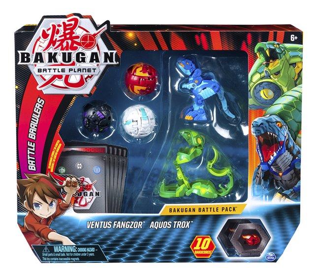 Afbeelding van Bakugan Battle 5-Pack - Ventus Fangzor & Aquos Trox from DreamLand