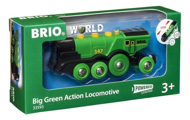 Image pour BRIO World 33593 Locomotive verte puissante à piles à partir de DreamLand