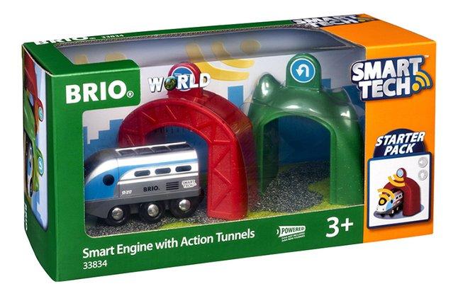 Image pour BRIO World 33834 Smart Tech Locomotive intelligente et portiques à partir de DreamLand