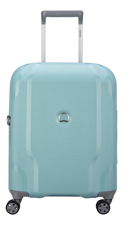 Delsey harde reistrolley Clavel blauw