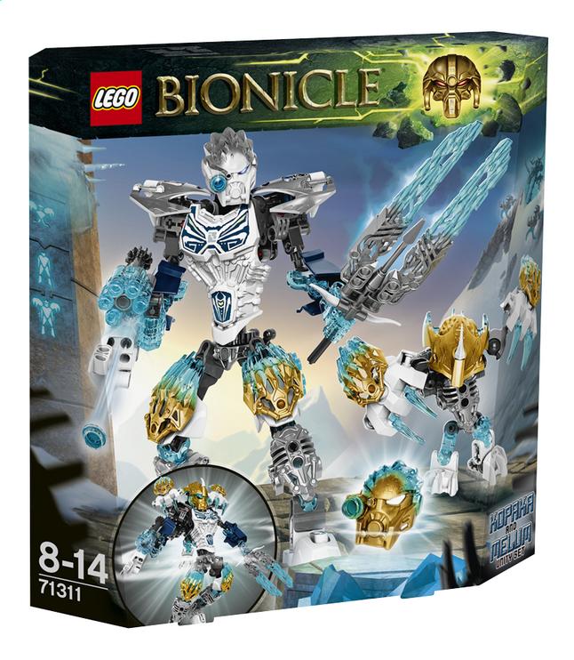 Afbeelding van LEGO Bionicle 71311 Kopaka en Melum from DreamLand