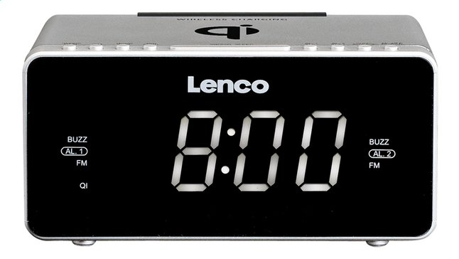 Image pour Lenco radio-réveil CR-550 argent à partir de DreamLand