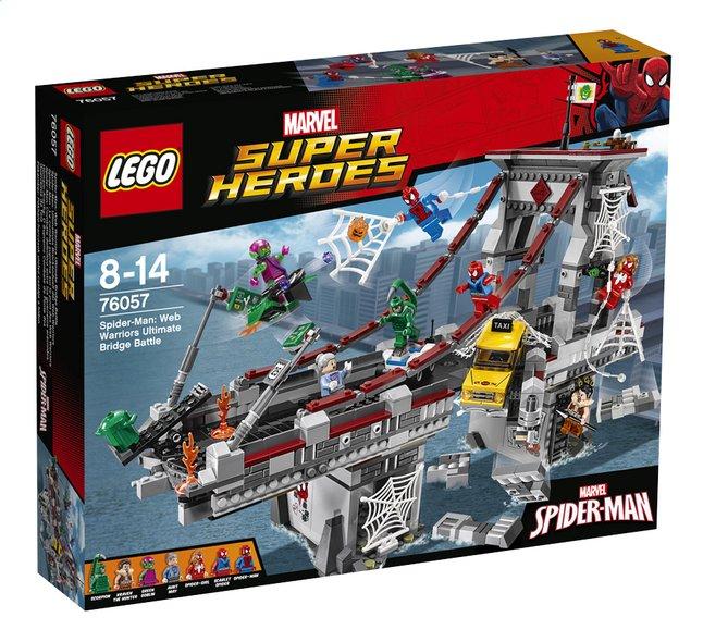 Image pour LEGO Super Heroes 76057 Spider-Man : Le combat suprême sur le pont des Web Warriors à partir de DreamLand