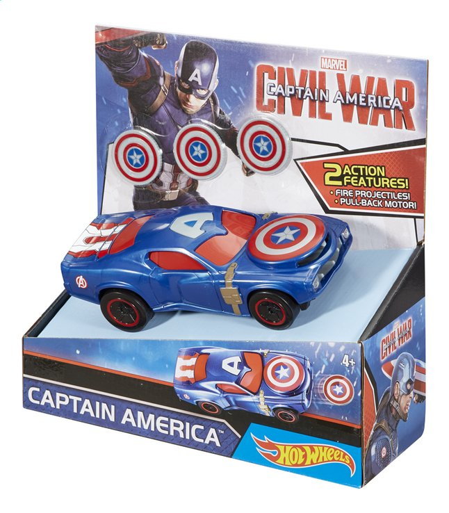 Image pour Hot Wheels voiture Captain America Civil War Captain America à partir de DreamLand