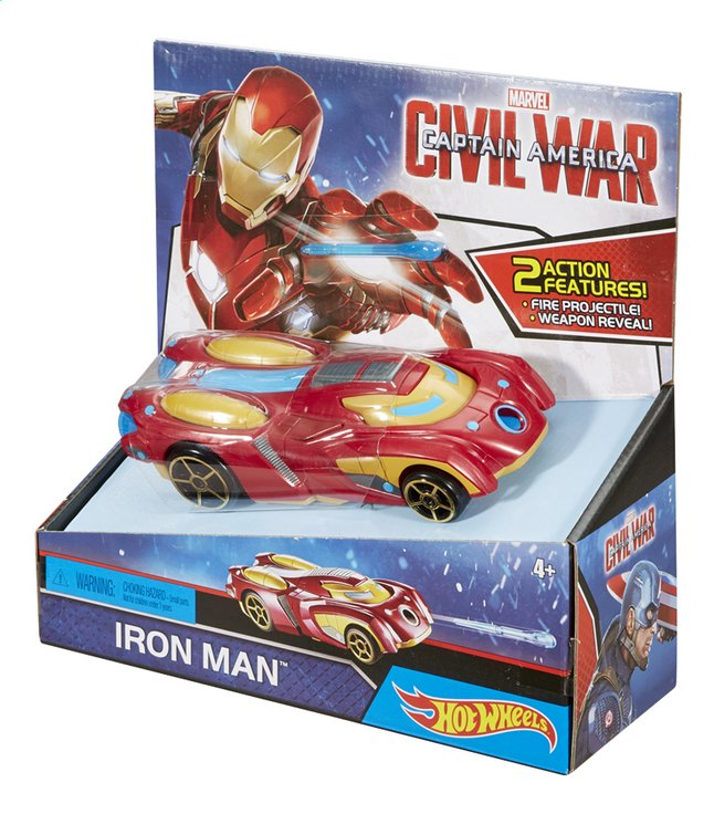 Afbeelding van Hot Wheels auto Captain America Civil War Iron Man from DreamLand