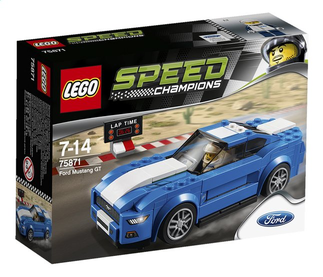 Afbeelding van LEGO Speed Champions 75871 Ford Mustang GT from DreamLand