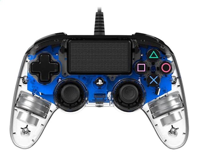 Afbeelding van Nacon PS4 Wired Compact Controller LED blauw from DreamLand