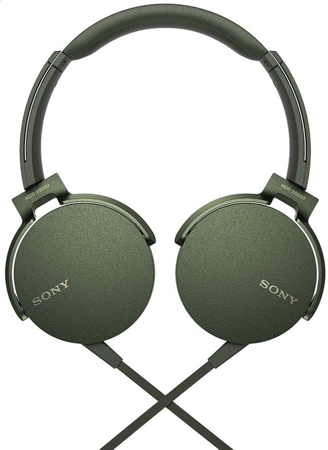 Sony casque MDR-XB550AP vert