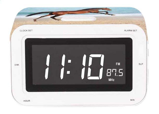 Image pour bigben radio-réveil RR30 Cheval sur la plage à partir de DreamLand
