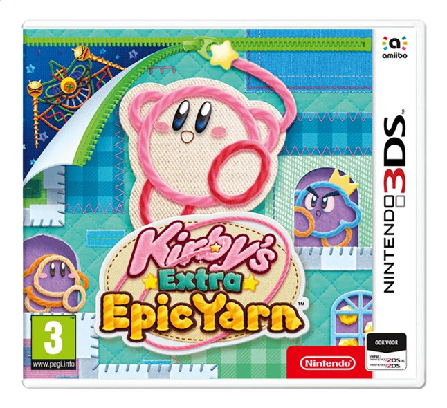 Afbeelding van Nintendo 3DS Kirby's Epic Extra Yarn NL from DreamLand
