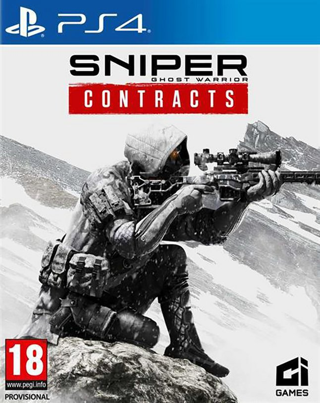 PS4 Sniper Ghost Warrior – Contracts ENG/FR