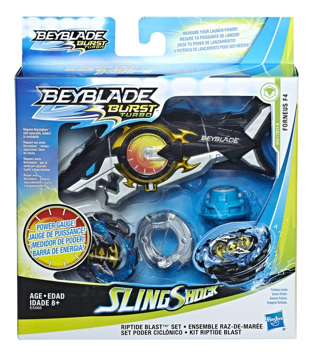 Afbeelding van Beyblade Burst Turbo Slingshock Riptide Blast Set from DreamLand