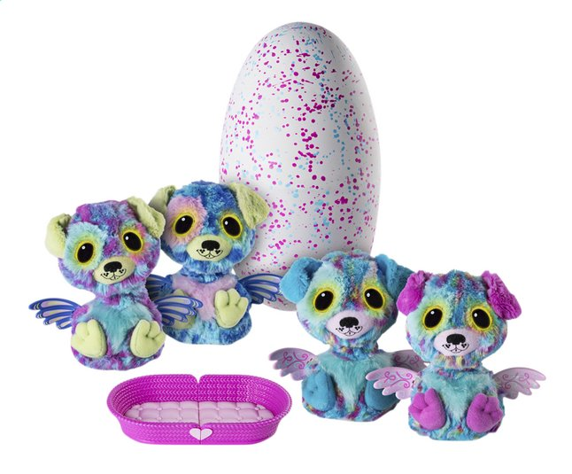 Hatchimals Surprise Egg 2 interactieve knuffels Puppade paars