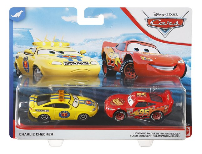 Disney Cars 3 auto Charlie Checker & Lightning McQueen