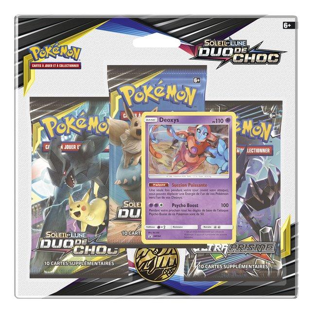 Image pour Pokémon JCC Trading Cards Soleil & Lune 9 - 3 Pack Blister Deoxys à partir de DreamLand