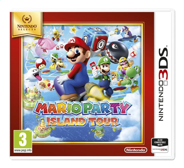 Nintendo 3DS Mario Party: Island Tour Select FR