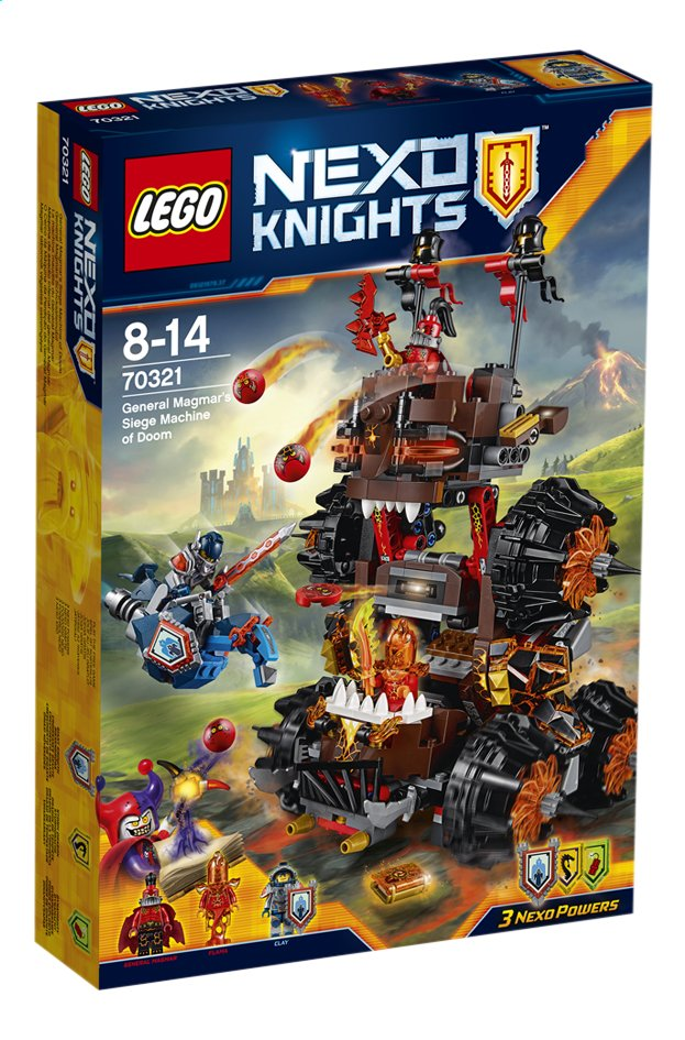 Image pour LEGO Nexo Knights 70321 La machine maudite du Général Magmar à partir de DreamLand