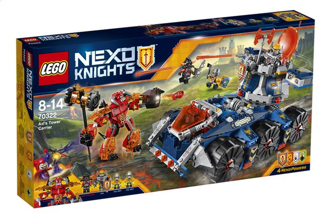 Afbeelding van LEGO Nexo Knights 70322 Axl's torentransport from DreamLand