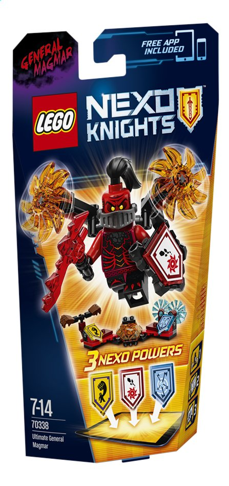 Image pour LEGO Nexo Knights 70338 L'Ultime Général Magmar à partir de DreamLand