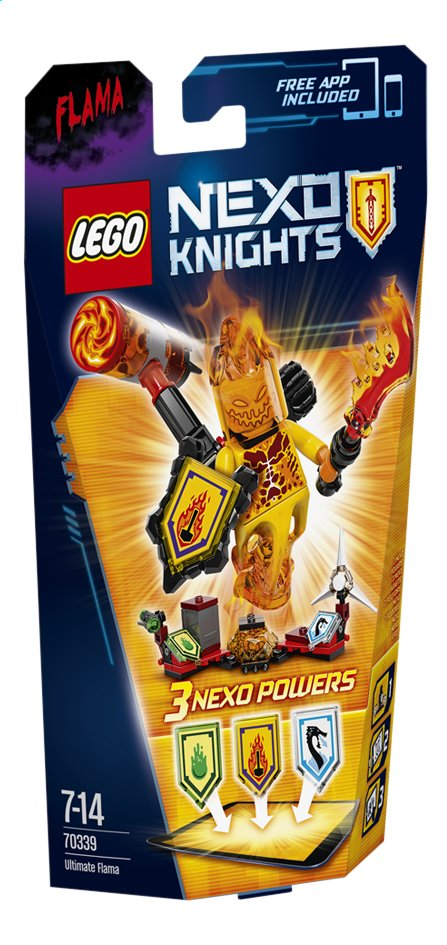 Afbeelding van LEGO Nexo Knights 70339 Ultimate Flama from DreamLand