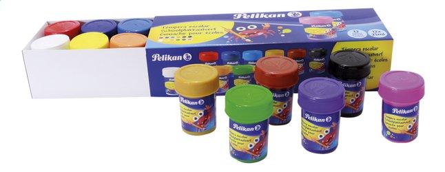 Pelikan gouache pour écoles - 12 pièces