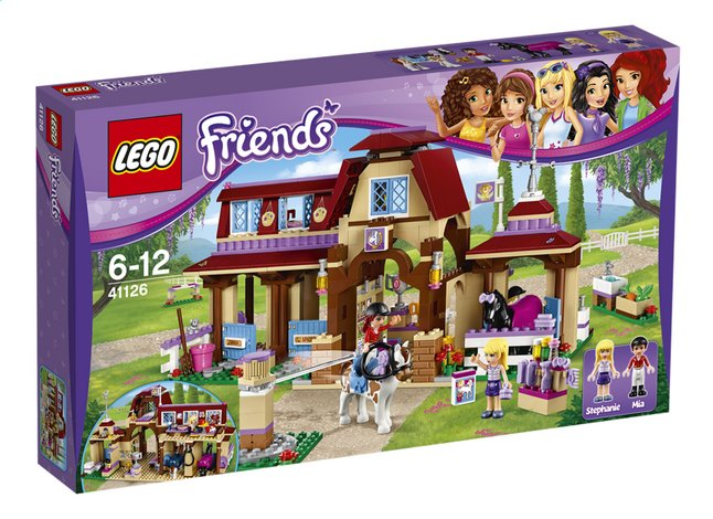 Afbeelding van LEGO Friends 41126 Heartlake paardrijclub from DreamLand